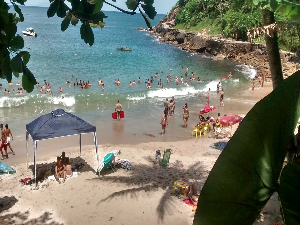 Praia do Éden - Praias do Guarujá SP