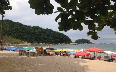 Praia do Guaiuba Guarujá