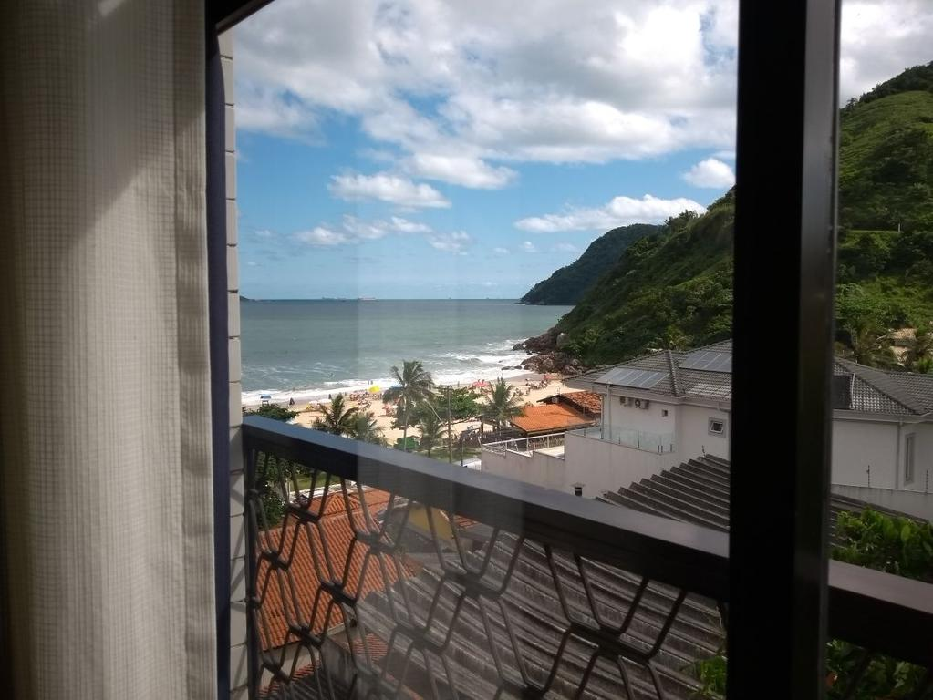 Apartamento Temporada Vista Mar - Praia do Tombo Guarujá
