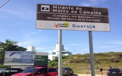 Mirante Morro do Maluf Morro da Campina Guarujá