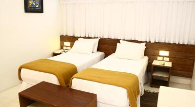 Suite Dulo Solteiro do Hotel Delphin Guaruja