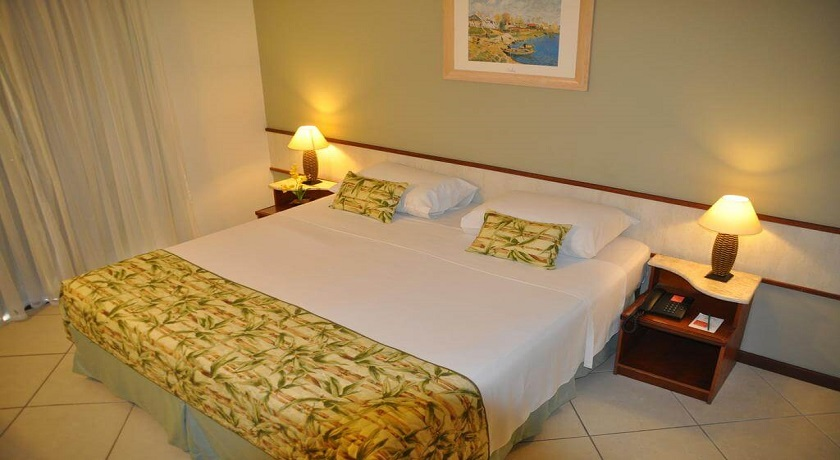 Suite dupla do Hotel Ilhas do Caribe Guaruja