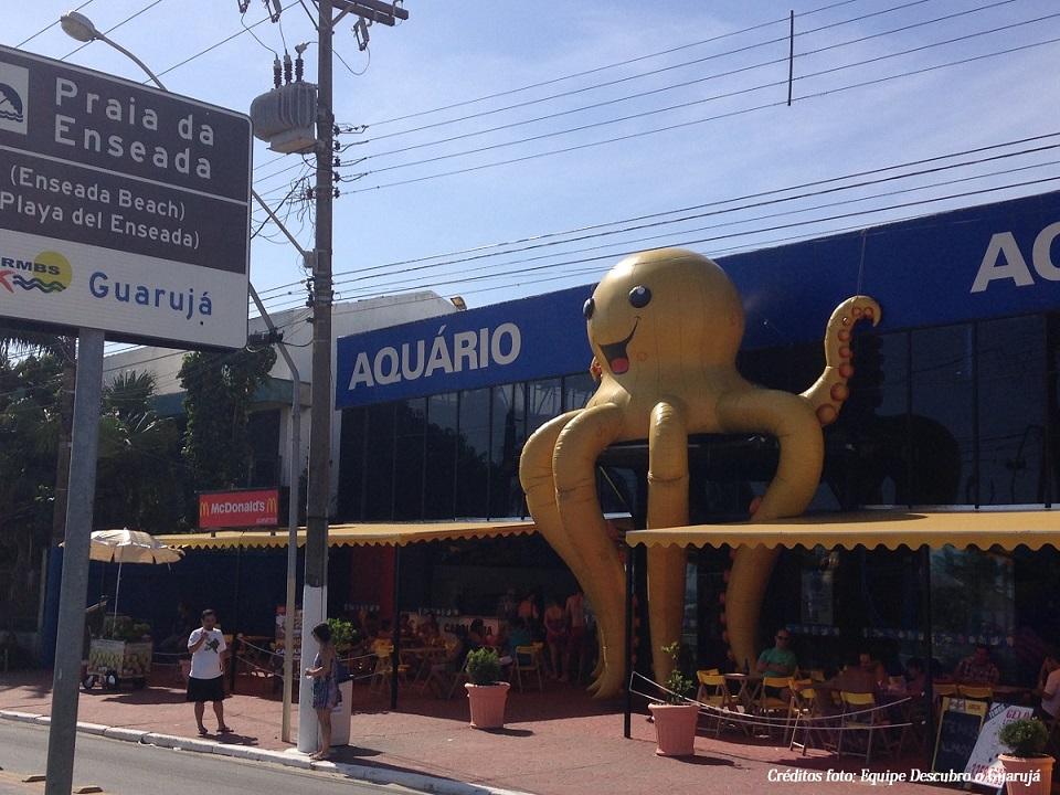 Fachada Aquario do Guaruja Acqua Mundo