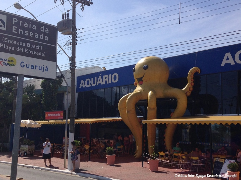 Fachada Aquario do Guaruja Acqua Mundo
