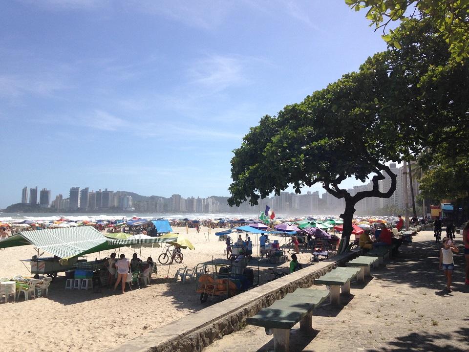 Orla da Praia de Pitangueiras Guaruja
