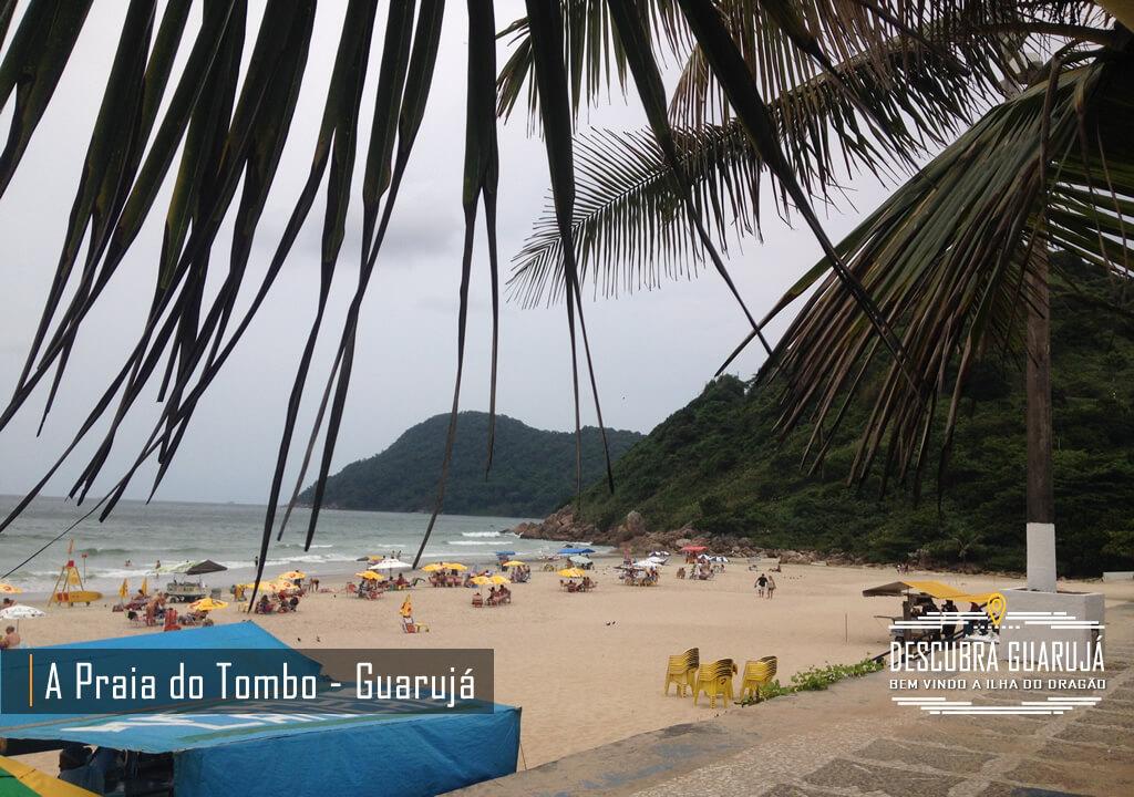 Praia do Tombo em Guarujá SP - Lado Direito