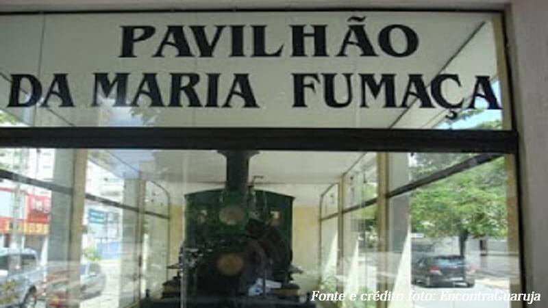 Pavilhão Maria Fumaça - Praia Pitangueiras Guarujá