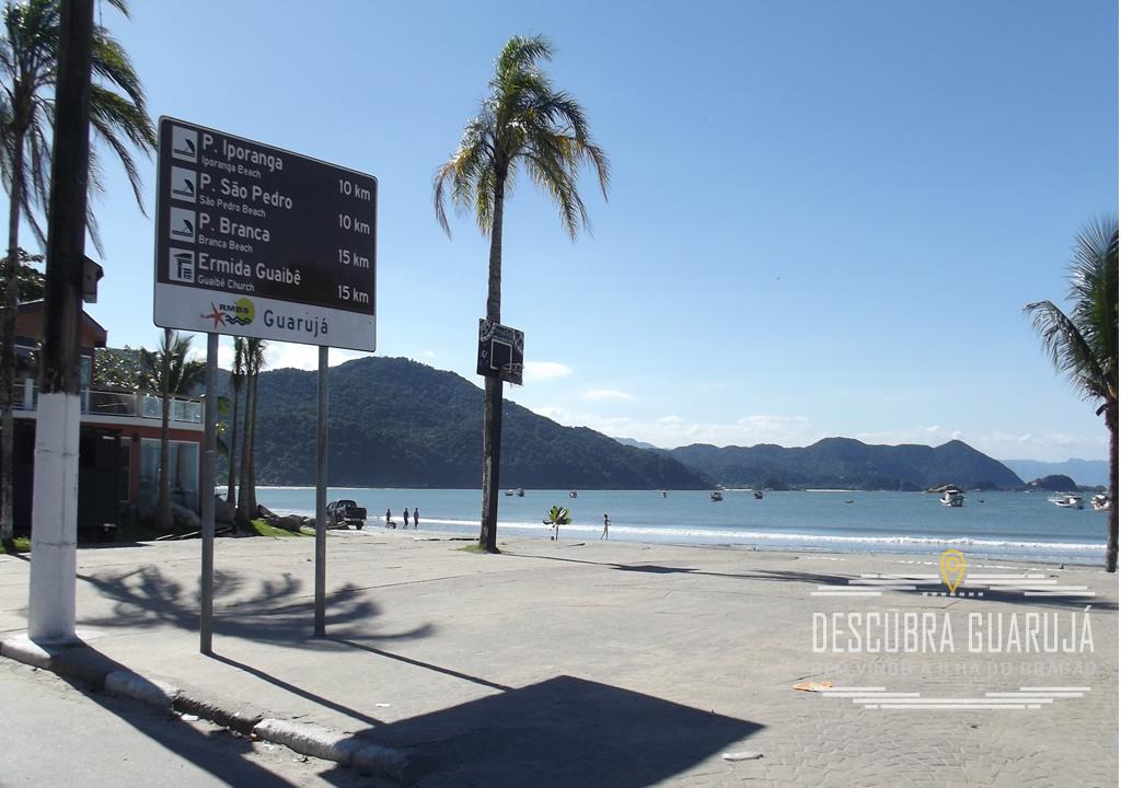 Placa Info Praia de Iporanga - Sao Pedro e Praianha Branca