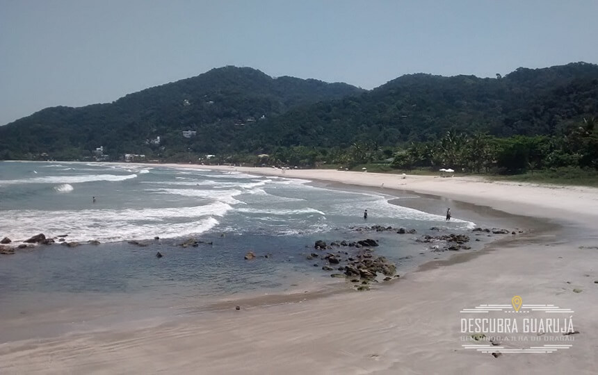 Praia de São Pedro - Vista Lado condominio Iporanga