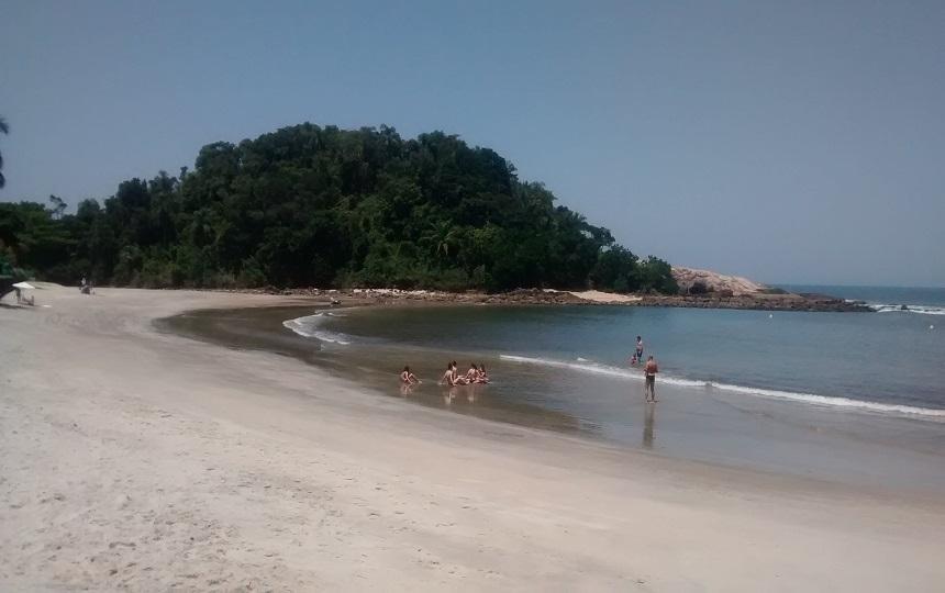 Praias de Conchas Guarujá SP -Condominio Iporanga