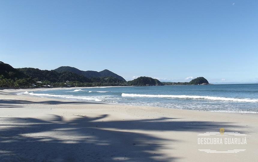 Vista da Praia de São Pedro pela Praia do Tijucupava