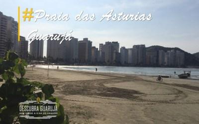 Praia das Astúrias Guarujá SP