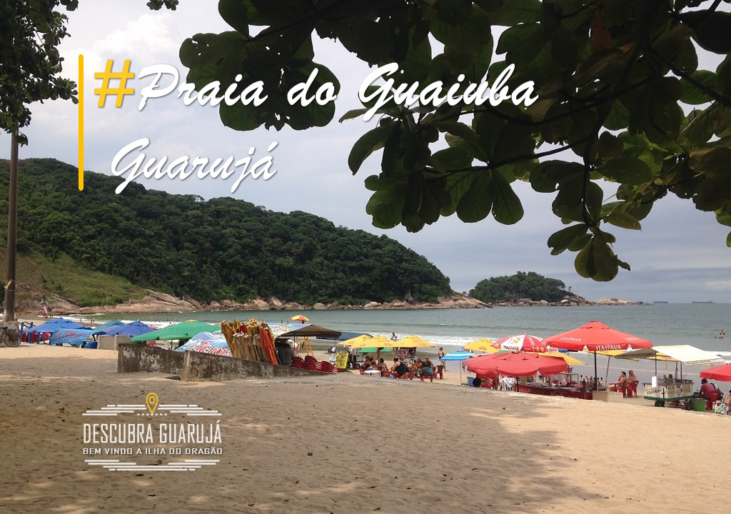Praia do Guaiuba - Guarujá SP