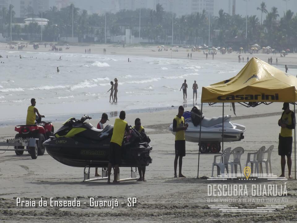 Aluguel de Jetsky na Praia da Enseada em Guarujá