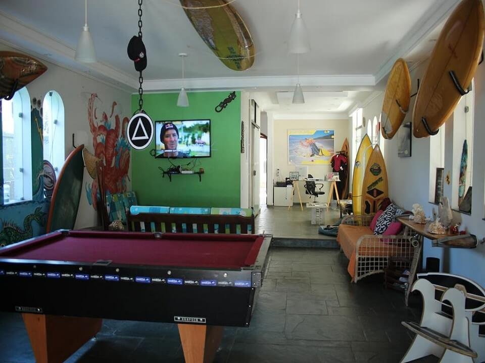 Curvao Surf House - Hostel-Albergue Guarujá - Praia da Enseada