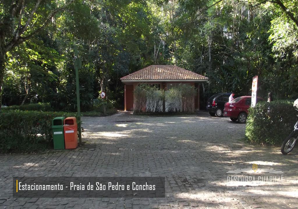 Estacionamento Praia de Conchas e Praia de São Pedro