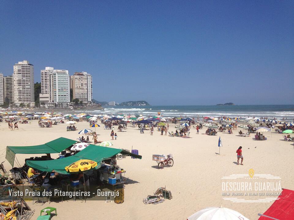 Vista Praia de Pitangueiras - Guarujá Litoral SP