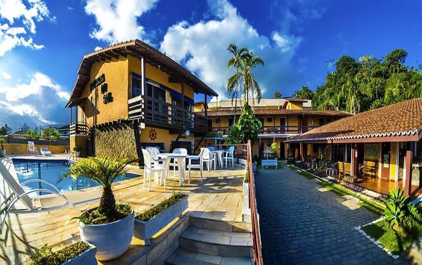 Hotel Pousada do Sol - Praia Grande Ubatuba