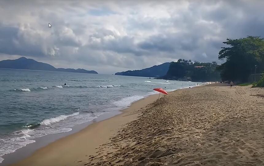 Praia Vermelha do Centro - Ubatuba - Praia Vermelhinha