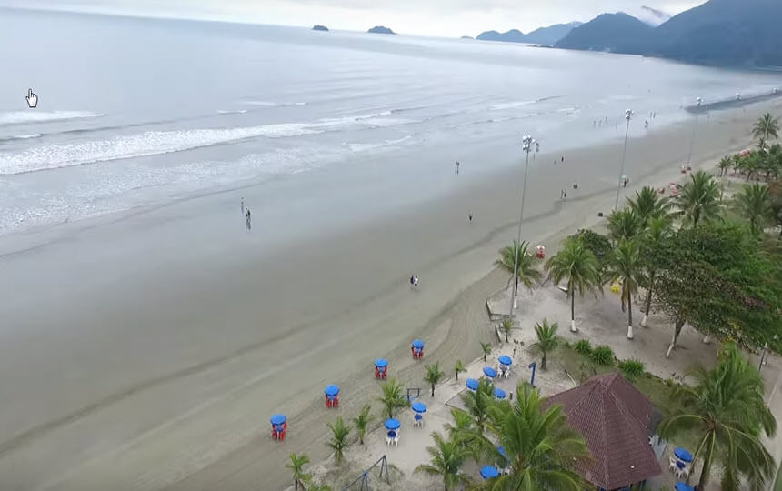 Praias do Guarujá SP