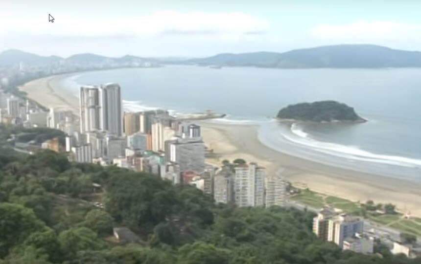 Praia de São Vicente - Litoral de Sul de São Paulo