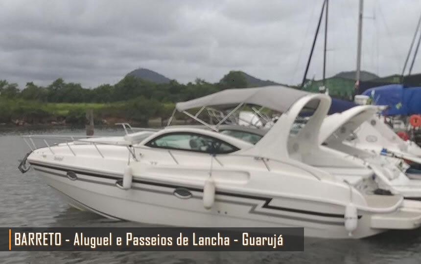 Barreto - Passeios e Aluguel de Lancha no Guarujá
