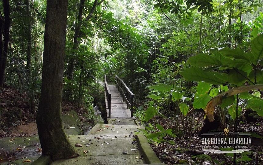 Foto escada Descida Praia do Sorocotuba