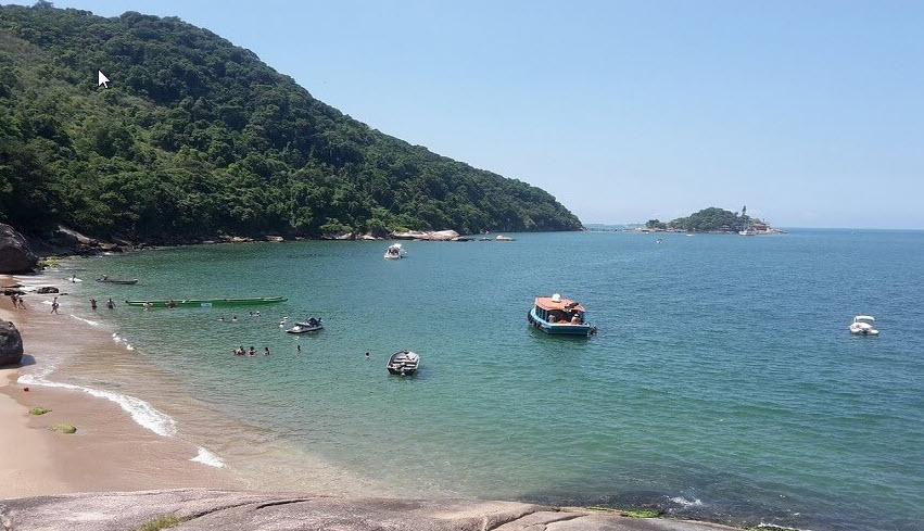 Praia do Sangava Guarujá