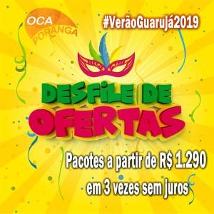 Promoção Carnaval Oca Poranga 2019
