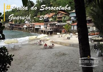 Praia do Sorocotuba Guarujá