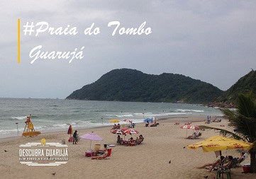 Praia do Tombo Guarujá SP