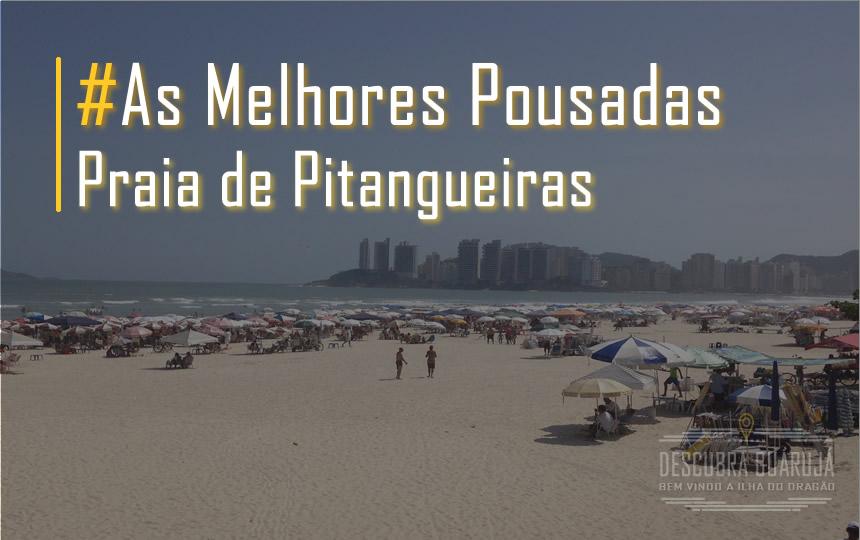 Melhores Pousadas Praia Pitangueiras Guarujá