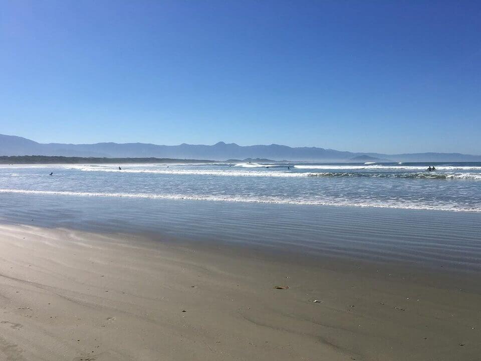 Praia de Itaguaré em Bertioga SP