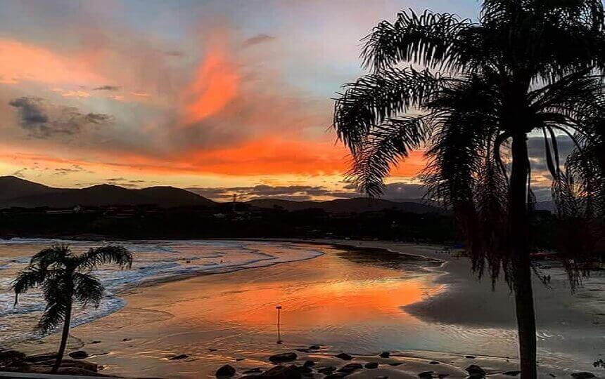 Por do Sol na Praia do Tenório
