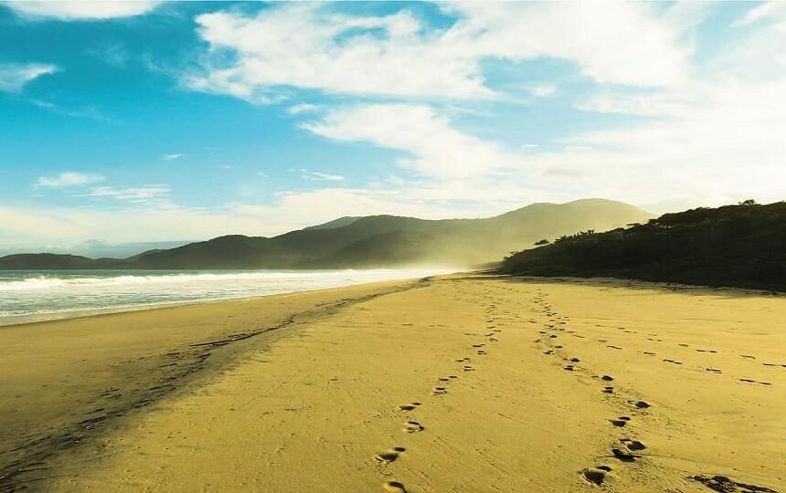 vista da Praia do Tenório Ubatuba SP