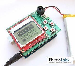 litio - Cargador programable para Arduino