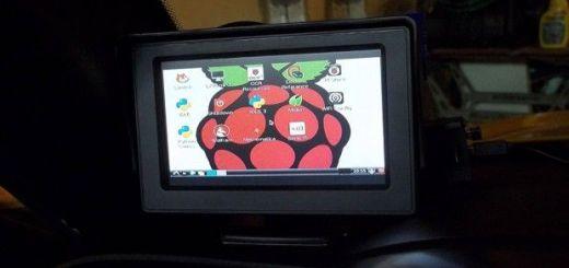 raspcar - Un ordenador de a bordo con Raspberry Pi