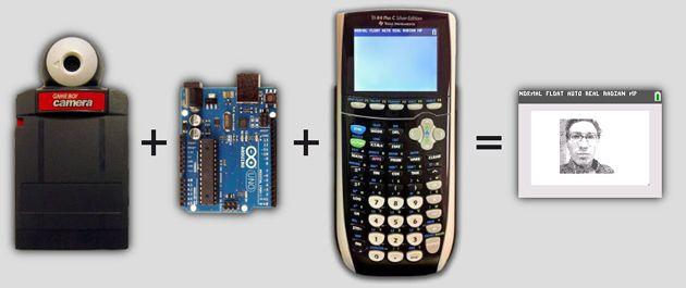 selfie - Convierte tu calculadora en una cámara de Selfies con Arduino