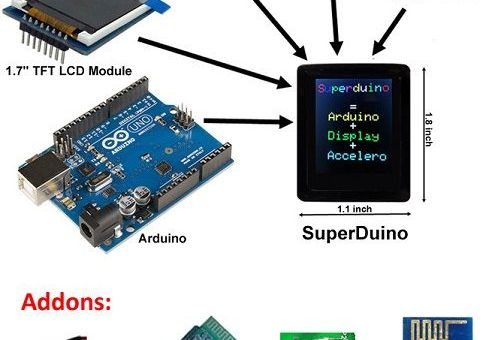 superd - Superduino, un smartwatch con Arduino