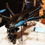 Por fín podemos ver en directo el drone HEXO+