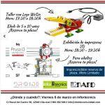 Robótica e impresión 3D gratuita en Villareal, @DroideComunidad