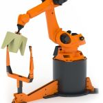 Robochop, un robot que corta figuras al gusto de los visitantes a la web