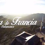 La Peña de Francia a vista de drone