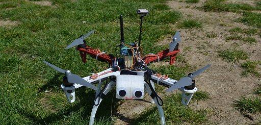 Un dron construido en torno a Arduino