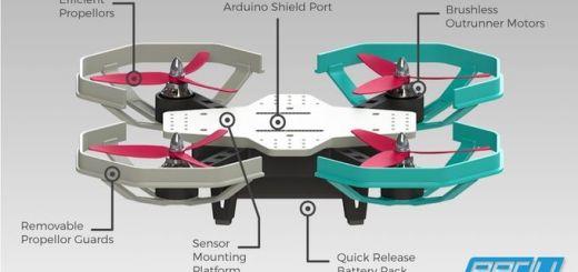 eedu - Eedu, un dron para enseñar a programar compatible con Arduino