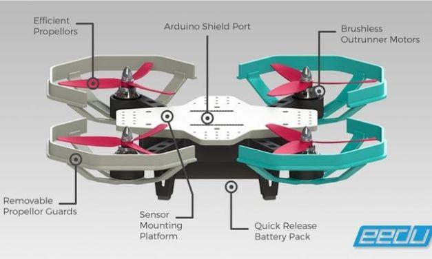 Eedu, un dron para enseñar a programar compatible con Arduino