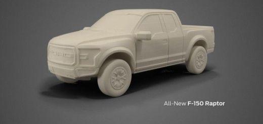 Ford te deja ahora imprimir sus modelos en 3D