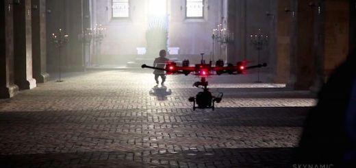 Cómo se hizo del último trailer de Juego de Tronos con drones