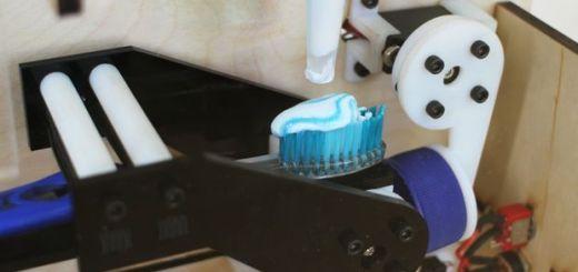 arduino pasta dientes - Ponle pasta a tu cepillo de dientes con Arduino e Intel Edison
