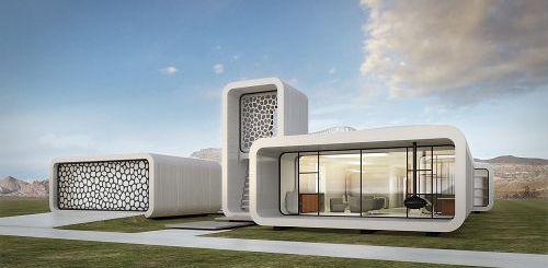oficina impresa3D - El primer edificio de oficinas impreso en 3D se construirá en Dubai